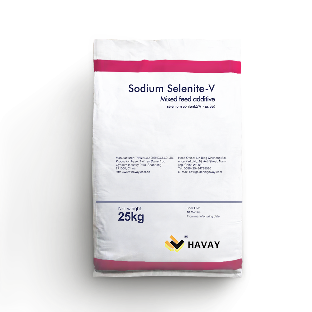 Sodium selenite mixed feed additive